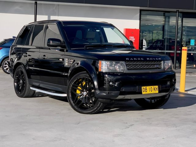 Used Land Rover Range Rover Sport L320 10MY Super Charged Liverpool, 2009 Land Rover Range Rover Sport L320 10MY Super Charged Black 6 Speed Sports Automatic Wagon
