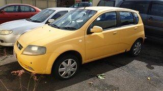 2007 Holden Barina Yellow Hatchback