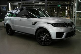 2019 Land Rover Range Rover Sport L494 19.5MY SE Silver 8 Speed Sports Automatic Wagon.