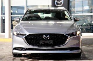 2021 Mazda 3 BP2S7A G20 SKYACTIV-Drive Touring Sonic Silver 6 Speed Sports Automatic Sedan.