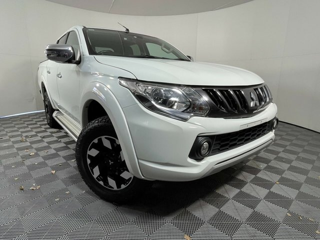 Used Mitsubishi Triton MQ MY16 Exceed Double Cab Wayville, 2016 Mitsubishi Triton MQ MY16 Exceed Double Cab White 5 Speed Sports Automatic Utility