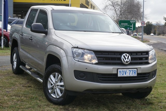 Used Volkswagen Amarok 2H MY15 TDI420 4MOTION Perm Core Phillip, 2015 Volkswagen Amarok 2H MY15 TDI420 4MOTION Perm Core Beige 8 Speed Automatic Utility