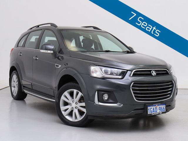 Used Holden Captiva CG MY15 7 LT (AWD), 2016 Holden Captiva CG MY15 7 LT (AWD) Grey 6 Speed Automatic Wagon