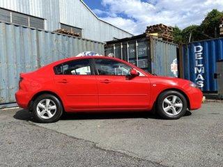 2007 Mazda 3 BK10F2 Maxx Red 4 Speed Sports Automatic Sedan.