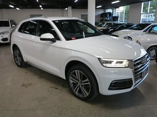 2018 Audi Q5 FY MY18 TDI S Tronic Quattro Ultra Sport White 7 Speed Sports Automatic Dual Clutch.