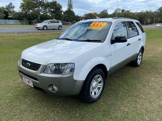 2008 Ford Territory SY TX AWD White 6 Speed Sports Automatic Wagon.