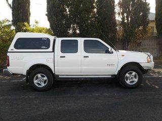 2006 Nissan Navara D22 ST-R (4x4) White 5 Speed Manual Dual Cab Pick-up