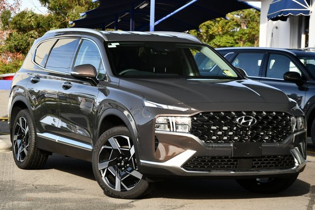 New Hyundai Santa Fe Tm.v3 MY21 Elite DCT Elizabeth, 2021 Hyundai Santa Fe Tm.v3 MY21 Elite DCT Black 8 Speed Sports Automatic Dual Clutch Wagon