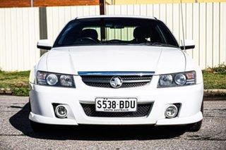 2005 Holden Calais VZ White 4 Speed Automatic Sedan