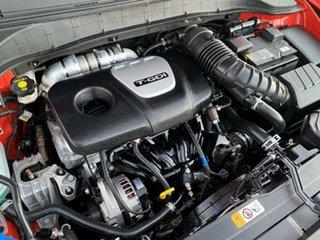 2017 Hyundai Kona OS MY18 Active D-CT AWD Orange 7 Speed Sports Automatic Dual Clutch Wagon