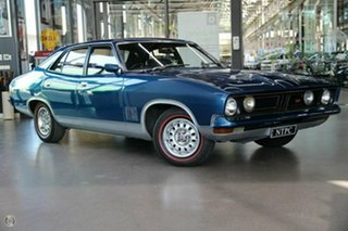 1974 Ford Falcon XB GT Blue 3 Speed Automatic Hardtop.
