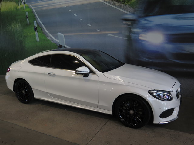 Used Mercedes-Benz C300 205 MY16 Osborne Park, 2016 Mercedes-Benz C300 205 MY16 White 7 Speed Automatic Coupe