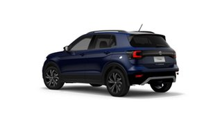 2021 Volkswagen T-Cross C1 85TSI CityLife (Black) Reef Blue Metallic 7 Speed Semi Auto SUV.