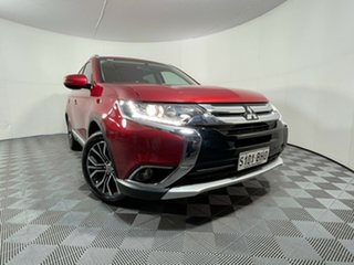 2015 Mitsubishi Outlander ZK MY16 LS 4WD Red Metallic 6 Speed Constant Variable Wagon.