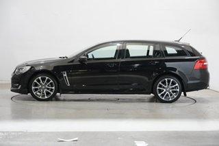 2017 Holden Commodore VF II MY17 SV6 Sportwagon Black 6 Speed Sports Automatic Wagon.