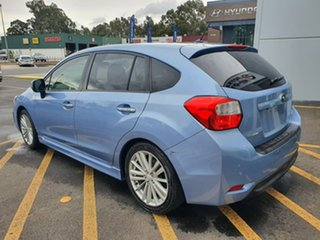 2012 Subaru Impreza G4 MY12 2.0i-S Lineartronic AWD Blue 6 Speed Constant Variable Hatchback