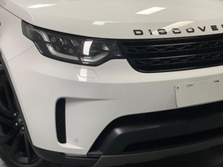 2017 Land Rover Discovery Series 5 L462 MY17 HSE Polaris White 8 Speed Sports Automatic Wagon.