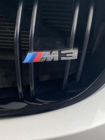Used BMW M3 F80 M-DCT Essendon Fields, 2014 BMW M3 F80 M-DCT White 7 Speed Sports Automatic Dual Clutch Sedan