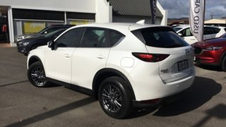 2018 Mazda CX-5 KF4WLA Touring SKYACTIV-Drive i-ACTIV AWD White 6 Speed Sports Automatic Wagon.