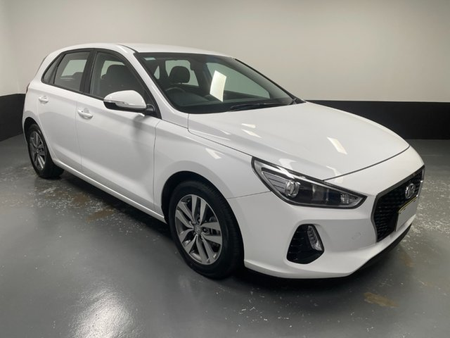 Used Hyundai i30 PD2 MY20 Active Rutherford, 2020 Hyundai i30 PD2 MY20 Active White 6 Speed Sports Automatic Hatchback