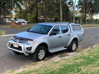 2014 Mitsubishi Triton MN MY14 Update GLX (4x4) Silver 5 Speed Manual 4x4 Double Cab Chassis