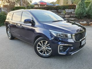 2018 Kia Carnival YP MY18 Platinum Blue 6 Speed Sports Automatic Wagon.