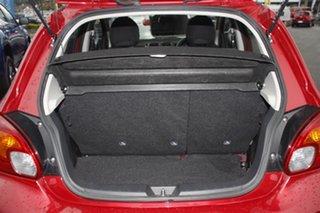 2017 Mitsubishi Mirage LA MY17 ES Red Planet 5 Speed Manual Hatchback