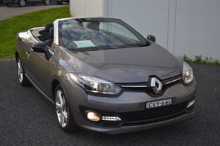2014 Renault Megane III E95 Phase 2 Dynamique Cpe Cabrio Grey 6 Speed Constant Variable Convertible