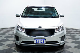 2015 Kia Carnival YP MY15 S Silver 6 Speed Automatic Wagon