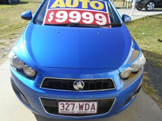 2013 Holden Barina TM MY14 CD Blue 6 Speed Automatic Hatchback.