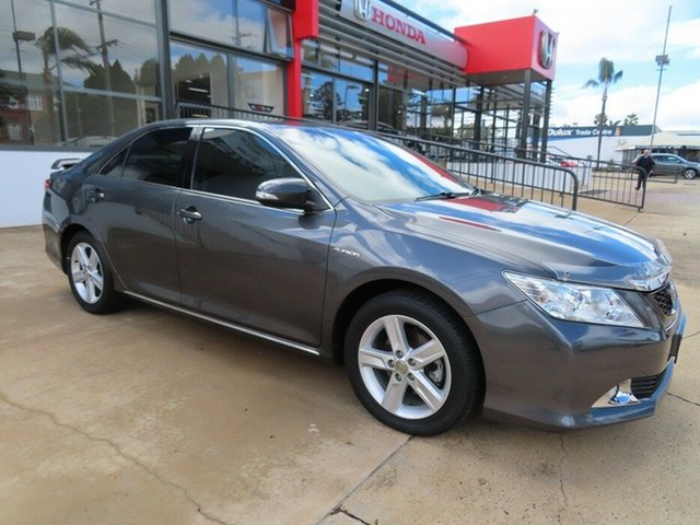 Used Toyota Aurion Touring SE Toowoomba, 2012 Toyota Aurion GSV40R 09 UPGRA Touring SE Grey 6 Speed Auto Sequential Sedan