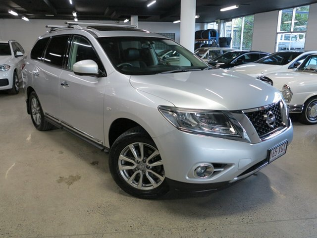 Used Nissan Pathfinder R52 Series II MY17 ST-L X-tronic 2WD Albion, 2016 Nissan Pathfinder R52 Series II MY17 ST-L X-tronic 2WD Silver 1 Speed Constant Variable Wagon
