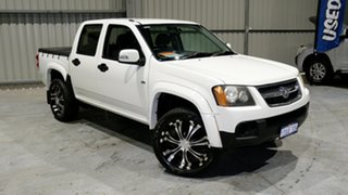 2008 Holden Colorado RC LX Crew Cab 4x2 White 4 Speed Automatic Utility.