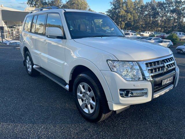 Used Mitsubishi Pajero NX MY20 GLX Maitland, 2020 Mitsubishi Pajero NX MY20 GLX White 5 Speed Sports Automatic Wagon