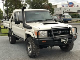 2013 Toyota Landcruiser VDJ79R Workmate 5 Speed Manual Cab Chassis.