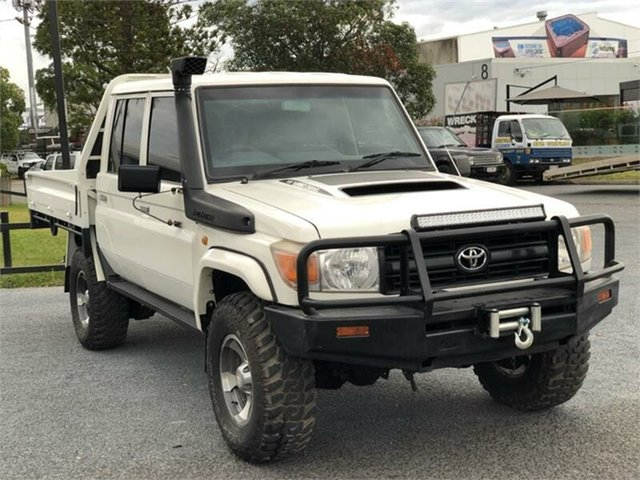Used Toyota Landcruiser VDJ79R Workmate Archerfield, 2013 Toyota Landcruiser VDJ79R Workmate 5 Speed Manual Cab Chassis