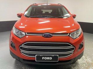 2016 Ford Ecosport BK Trend PwrShift Orange 6 Speed Sports Automatic Dual Clutch Wagon.