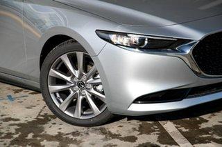 2021 Mazda 3 BP2S7A G20 SKYACTIV-Drive Touring Sonic Silver 6 Speed Sports Automatic Sedan