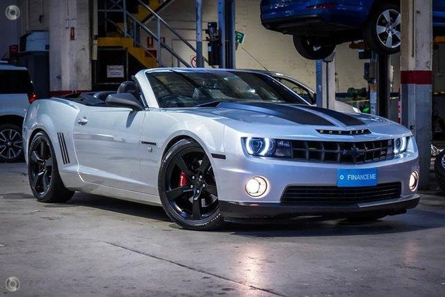 Used Chevrolet Camaro MY18 2SS Parramatta, 2018 Chevrolet Camaro MY18 2SS Grey 8 Speed Sports Automatic Coupe