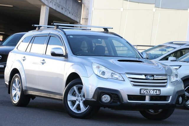Used Subaru Outback B5A MY13 2.0D Lineartronic AWD Brookvale, 2013 Subaru Outback B5A MY13 2.0D Lineartronic AWD Silver 7 Speed Constant Variable Wagon
