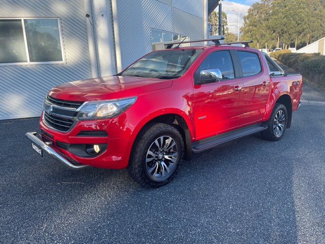 Used Holden Colorado RG MY17 LTZ Pickup Crew Cab Maitland, 2016 Holden Colorado RG MY17 LTZ Pickup Crew Cab Red 6 Speed Sports Automatic Utility