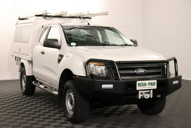Used Ford Ranger PX XL Acacia Ridge, 2012 Ford Ranger PX XL White 6 speed Manual Cab Chassis