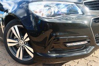 2014 Holden Commodore VF MY15 SV6 Black 6 Speed Automatic Sedan.
