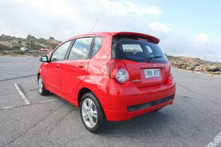 2010 Holden Barina TK MY11 Red 4 Speed Automatic Hatchback