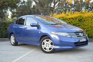 2009 Honda City GM MY09 VTi Blue 5 Speed Automatic Sedan.