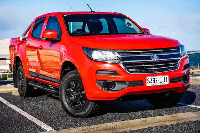 Used Holden Colorado RG MY17 LS Pickup Crew Cab Christies Beach, 2017 Holden Colorado RG MY17 LS Pickup Crew Cab Red 6 Speed Sports Automatic Utility