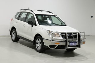 2015 Subaru Forester MY14 2.5I White Continuous Variable Wagon