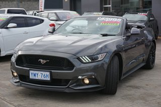 2016 Ford Mustang FM GT SelectShift Grey 6 Speed Sports Automatic Convertible