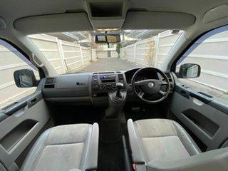 2009 Volkswagen Transporter T5 MY09 Crewvan Low Roof Blue 6 Speed Sports Automatic Van