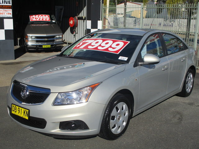 Used Holden Cruze JH CD Coffs Harbour, 2011 Holden Cruze JH CD Syracuse 6 Speed Automatic Sedan